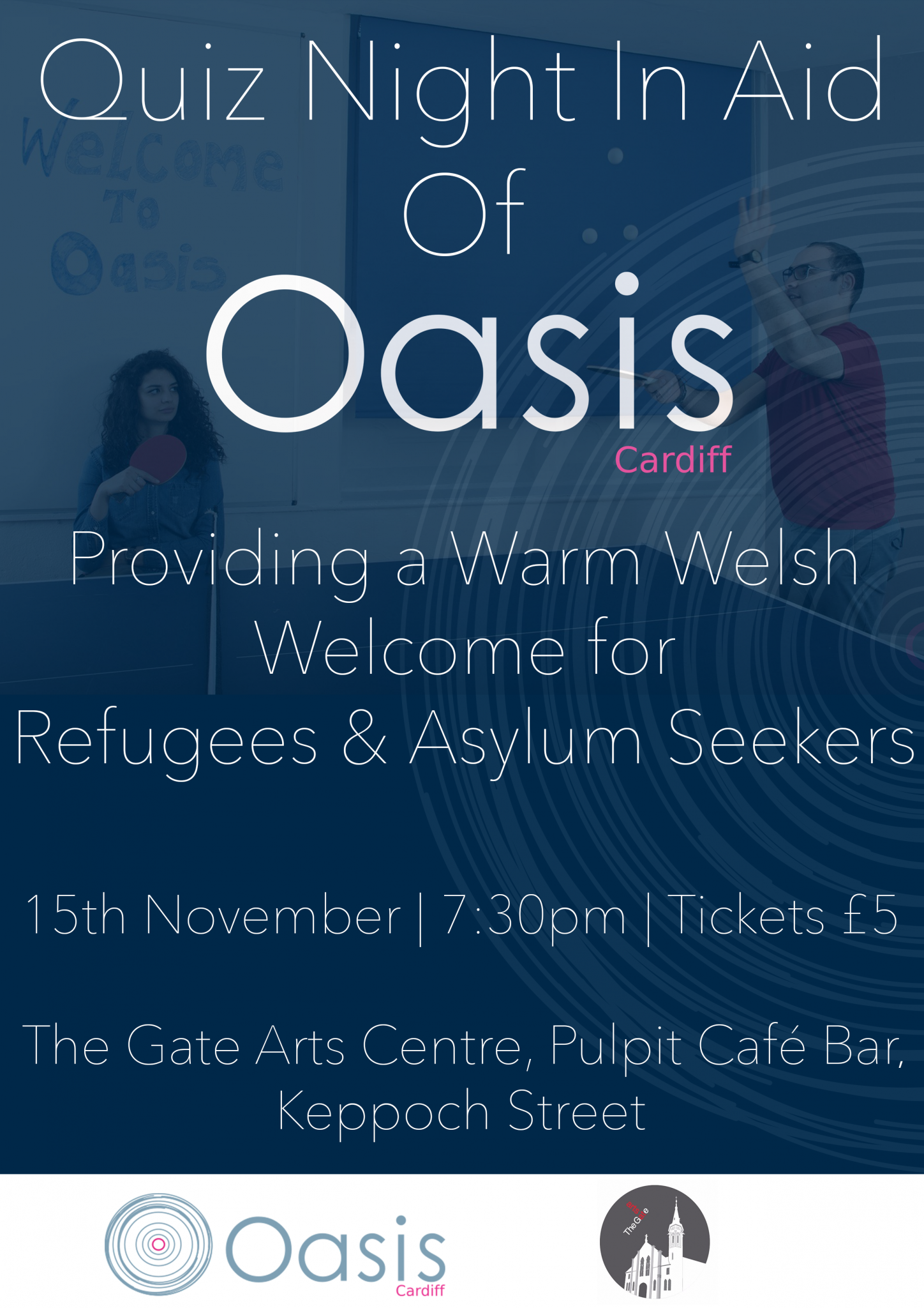 Quiz Night In Aid Of Oasis Cardiff