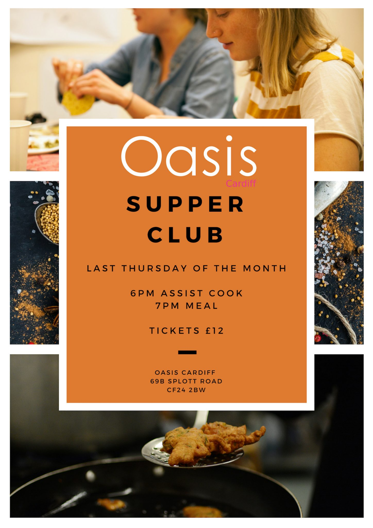 Monthly Supper Club
