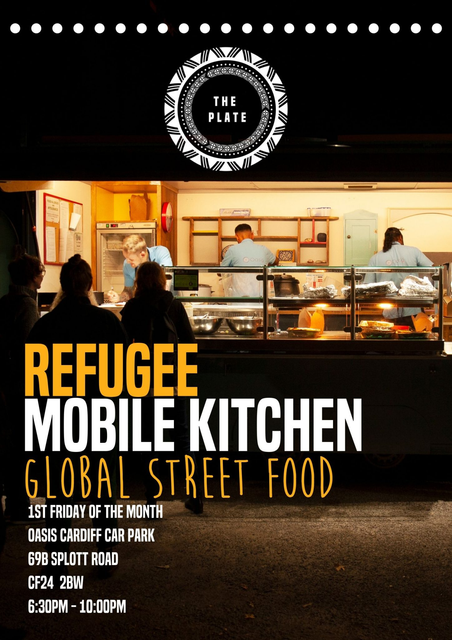 Refugee Mobile Kitchen Posters_Flyers_Menu